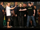 Bellator 180 NYC PPV main card weigh in and face off