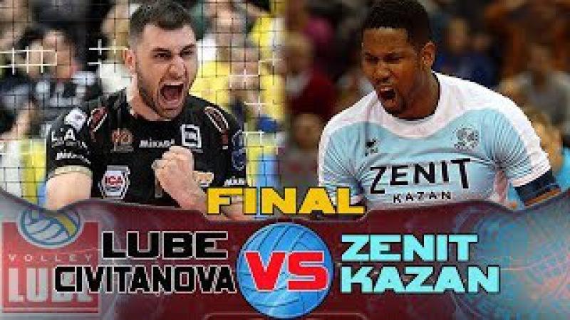 LUBE CIVITANOVA v ZENIT KAZAN the best moments Men's Club World Championship
