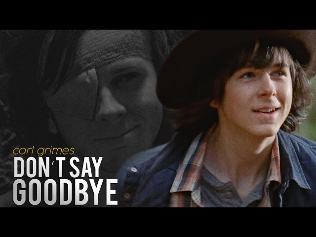 TWD Carl Grimes Don't Tell Me Goodbye
