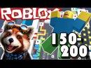 МЕГА ФАН ОББИ 150-200 уровень! РОБЛОКС игры по русски! ROBLOX Mega Fun Obby