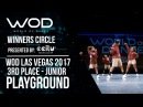 Playground 3rd Place Junior Winners Circle World of Dance Las Vegas 2017 WODLV17