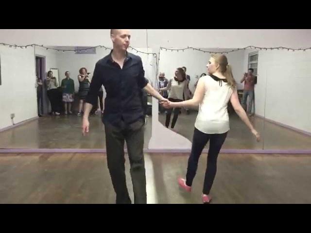 Swing Dance Charleston Moves | Hacksaw | Hand to Hand (Pancake) | Over