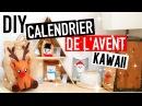 DIY NOËL Calendrier de lAvent KAWAII français