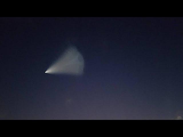 Что было в небе НЛО или Тополь? Показываю разницу. 26.09.2017