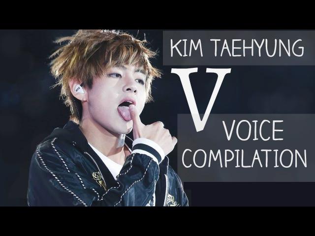BTS V vocal range / VOICE COMPILATION (Kim Taehyung)