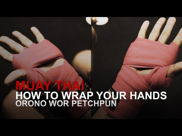 How To Wrap Your Hands For Muay Thai | Evolve University