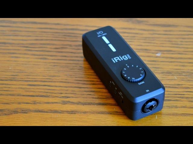IK Multimedia iRig Pro I/O Review