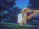 Спас девушку от разбойников Герой Момент из аниме Ранс страж пустыни Rance Sabaku no