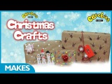 CBeebies | Christmas Crafts | DIY Wrapping Paper