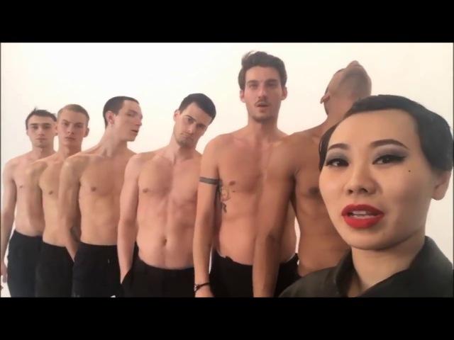 Ян Гэ - Монашка (съемки клипа)