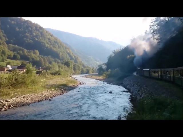 Большая прогулка по маленькой железной дороге - 2 / A long walk along the small railway - 2
