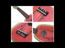 Robolife IRIN 21 inch 4 String Hawaii Basswood Ukulele Watermelon Mini Guitar Musical Instrument