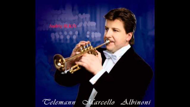 A.ILKIV (trumpet) Albinoni Concert Es major 2 mvt.