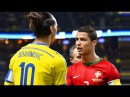 When Cristiano Ronaldo and Ibrahimović Made History in the Same Match