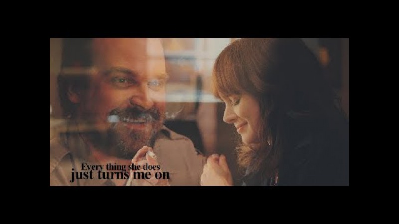 Joyce and Hopper - Every Little Thing She Does Is Magic