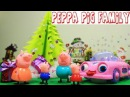 Peppa Pig Episodes in Toy City - Baby Peppa Pig Presents Christmas Gifts to Parents