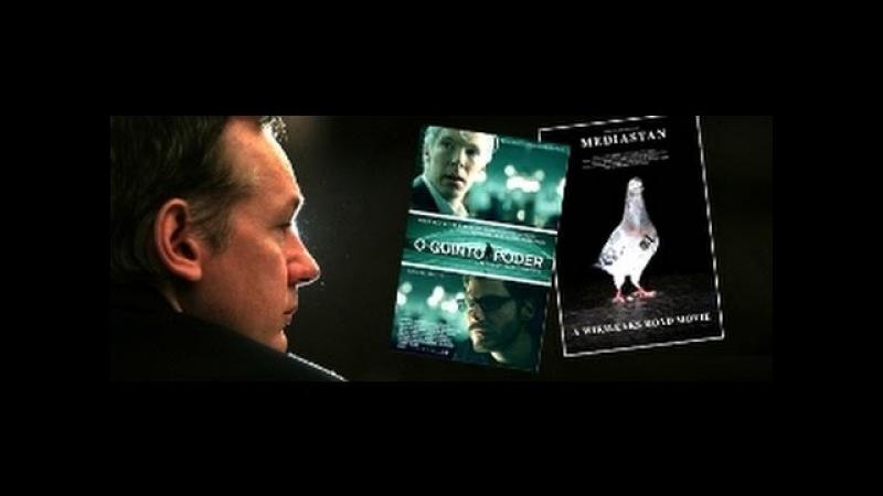 Wikileaks O quinto poder filme completo - Assange herói o povo contra a nova ordem mundial FED(CIA)