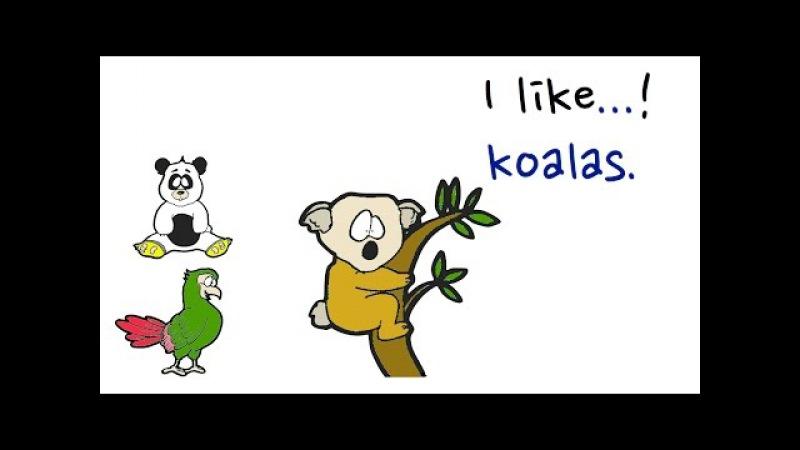 Adjectives | Animals Vocabulary | Set 4 | Easy English Conversation Practice | ESL.