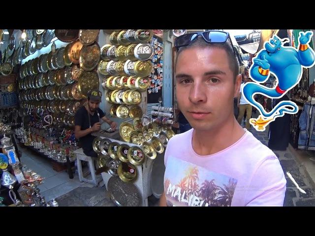 В поисках волшебной лампы. Торговцы в шоке. Столица Туниса город Тунис