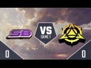 SWC2018 CONSOLE LEAGUE полуфинал Strickly Business vs Myth Gaming игра 1