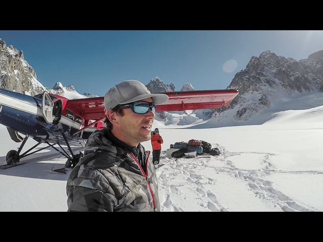 GoPro Chris Davenport and an Alaskan Mountain Ski Adventure