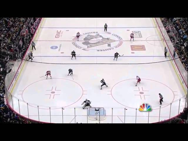 Semin sets-up Alex Ovechkin one-timer goal 1/22/12