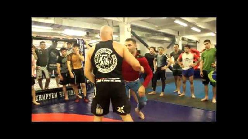 Мастер-класс Абукара Яндиева для бойцовского клуба PamirFighters
