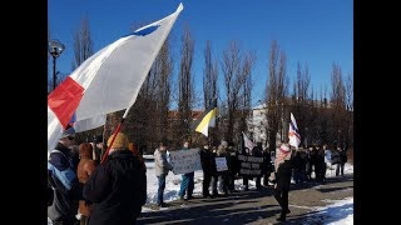 25 февраля 2018 г,Дом искусств.Вахта памяти Бориса Немцова.КОС