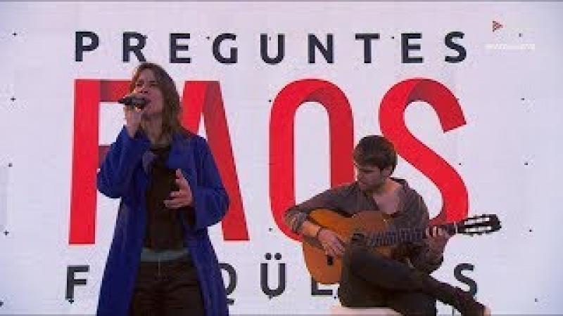 Lídia Pujol canta Cecilia i Joni Mitchell al Preguntes Freqüents de Tv3 2018 - HD