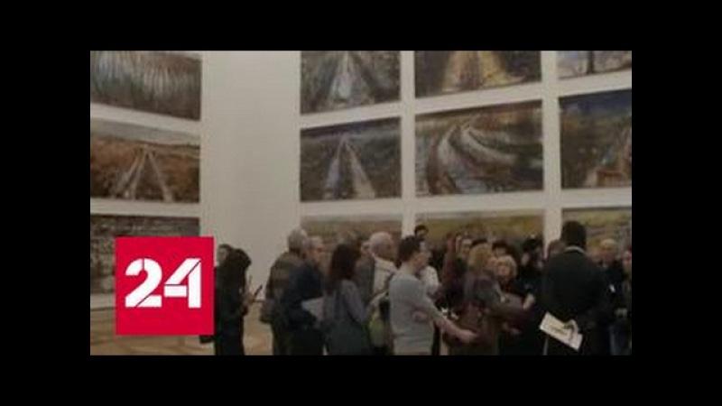 Персональная выставка Ансельма Кифера открылась в Эрмитаже