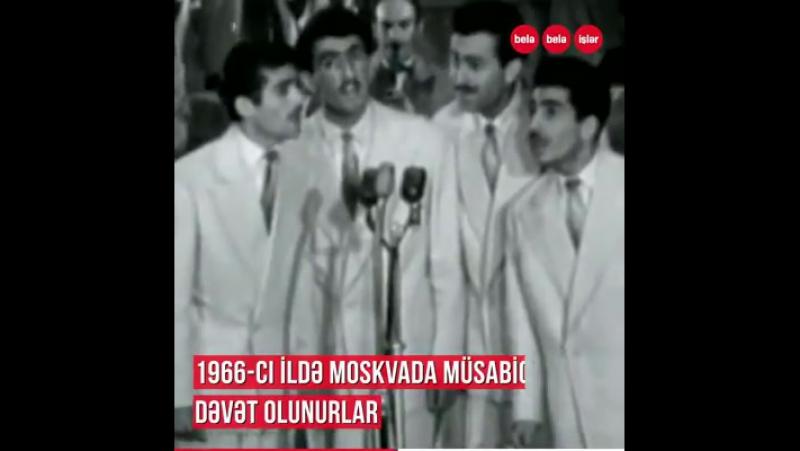 50 il qabaq SSRİ-nin ən məşhur qruplarından olan əfsanəvi Qaya... Onlar Alla Puqaçova, İosif Kobzon kimi ulduzların olduğu müs