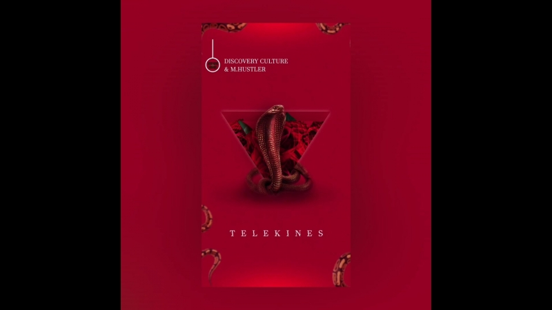 Discovery Culture, M.Hustler - TELEKINES (Анимация обложки от Lomaxstudio)
