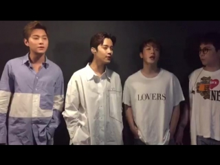 "Singing ""Meeting"" @ ftisland twitter"