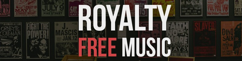 royalty-free music library
