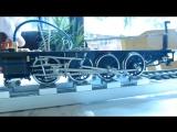 Build Steam engine locomotive Assembly Kit Aster animation gauge 1