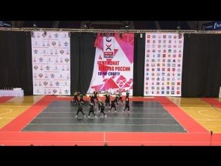 Чемпионат и первенство России по чир спорту. Hip-hop. Legion Пенза