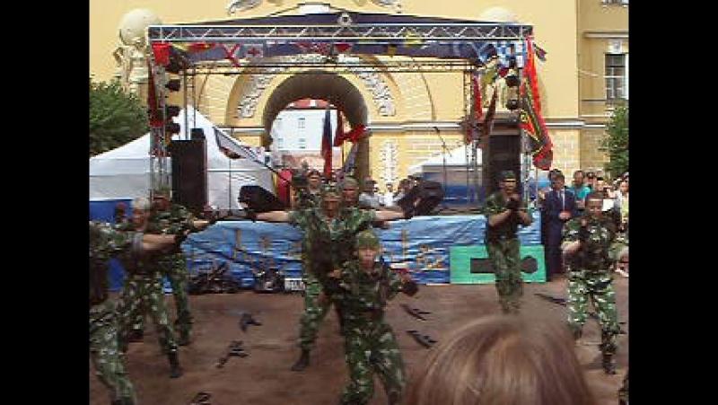 Празднование дня ВМФ в Александровском саду.