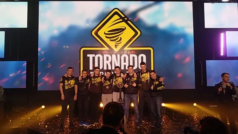 Награждение чемпионов WGL - Tornado Energy