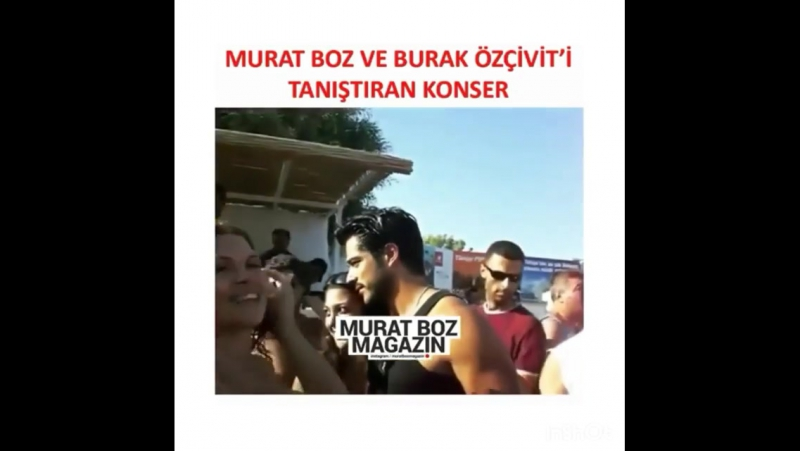 """Concert they met with Burak and Murat ın 10 years ago... @burakozcivit @muratboz @muratbozmagazin…"""
