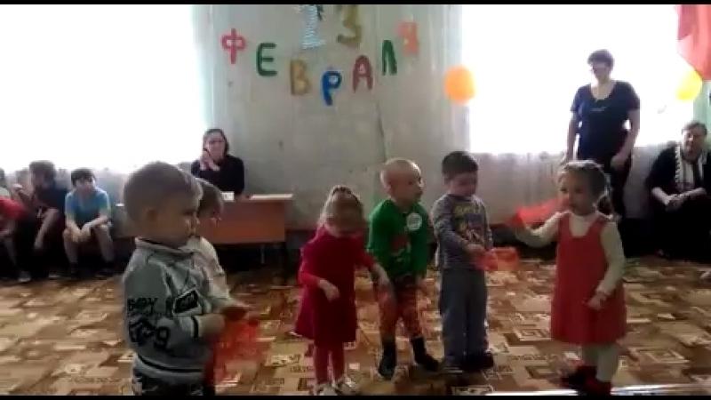 Наши детки ) 23 февраля