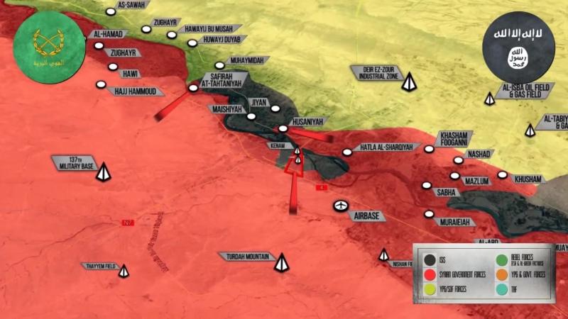 Военная обстановка в Сирии и Ираке на 17.10.2017: США воздержались от поддержки курдов в Ираке.