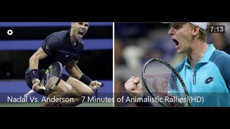 Теннис. US Open 2017. Рафаэль Надаль - Кевин Андерсон: 16-ый мэйджор Рафы