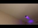 Антигравитационная машина ездит по стенам и потолку.