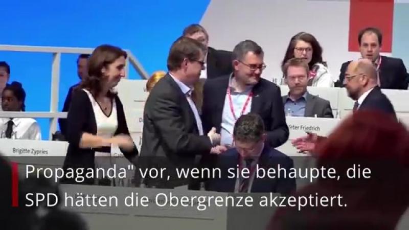Kaum sind Sondierungen vorbei- gehen sich CSU und SPD an die Gurgel