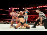 SB_Group Full match Sasha Banks &amp Bayley (wMickie James) vs. Sonya Deville &amp Mandy Rose (wPaige) RAW Jan.8, 2018