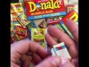 Разворачиваем Жевательную резинку Дональд 1988 год