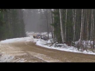 Ралли-спринт Лепель 2017. Fail Куприенко - Якунин / BMW 328