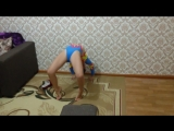 Video.Гимнастика для Начинающих... (Сама типа Конченная)))) Где растяжка???