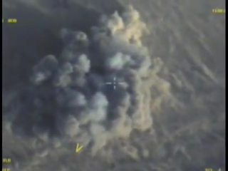 ВКС России выявляет и уничтожает боевую технику и транспорт террористов в районе Акербат