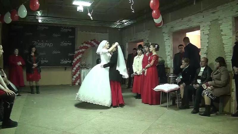 13-обряд зняття вельона-весілля в Отинії Юля та Міша 11 11 2017р